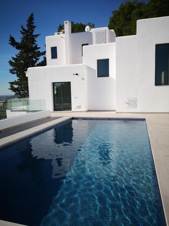 Maravillosa villa con piscina, en venta en Ibiza, Can Furnet