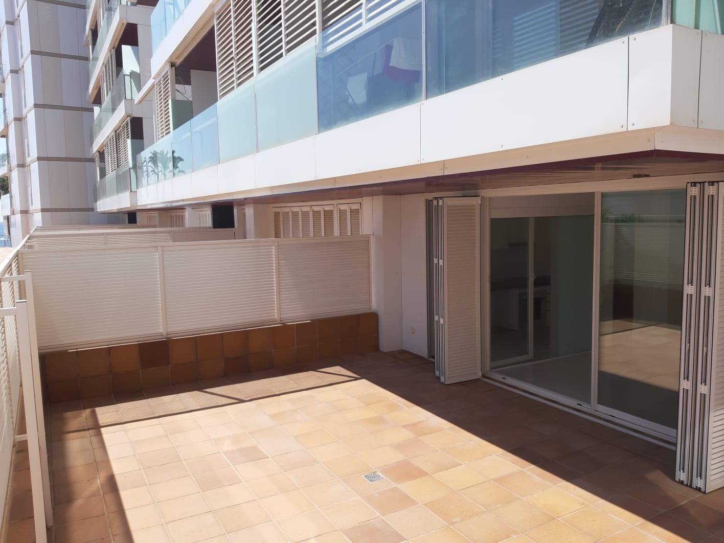Spacious 3 bedroom apartment for sale in modern beachfront residence in Ibiza