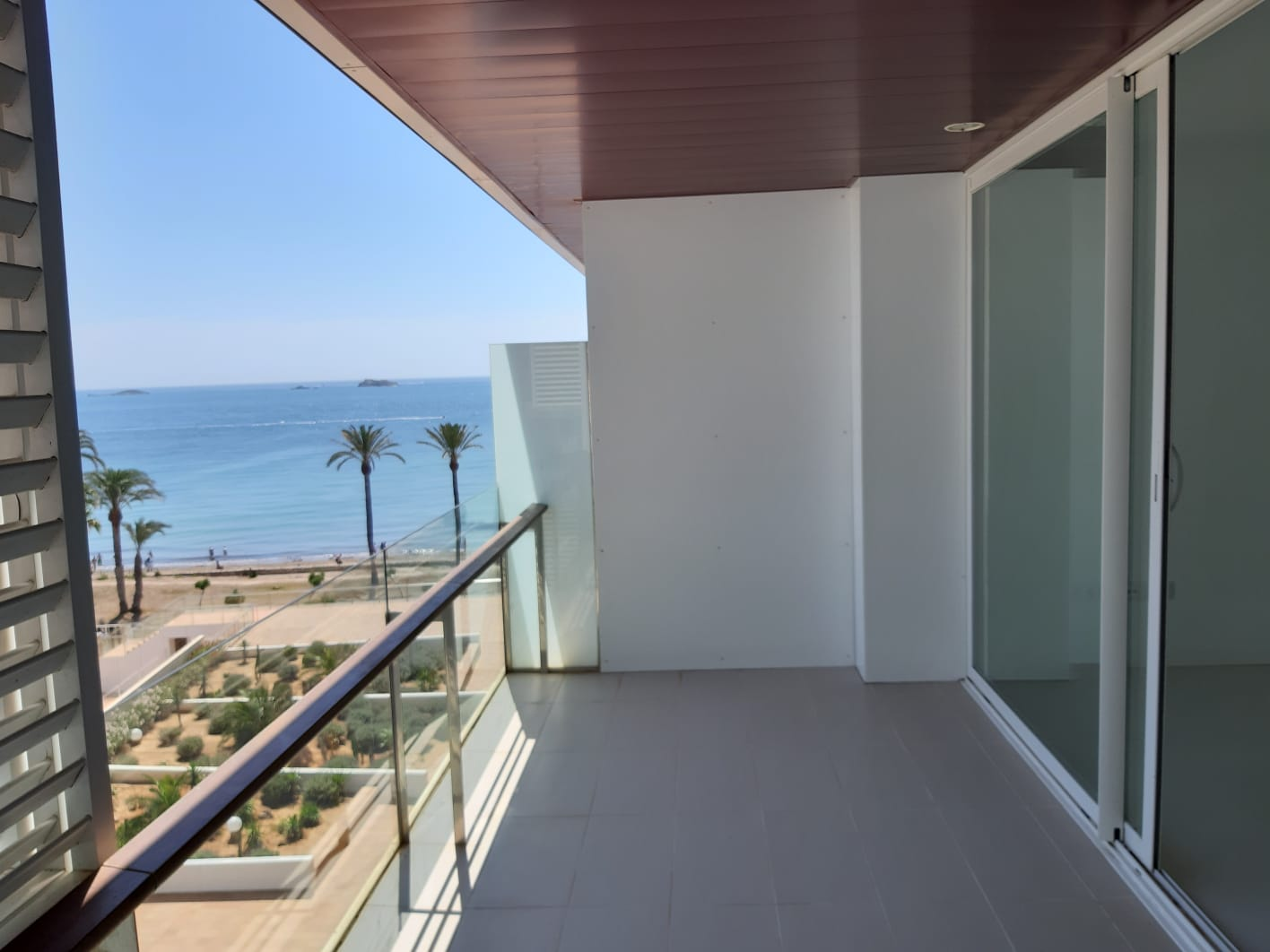 Mooi licht appartement met 2 slaapkamers in het strand Residence in Playa d'en Bossa